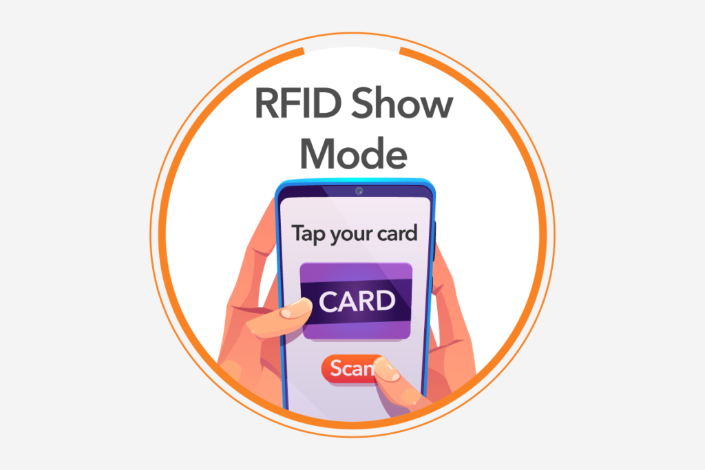 RFID show mode