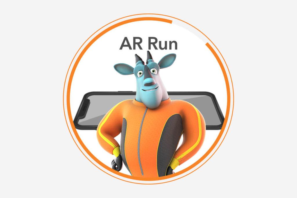 AR Run game