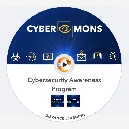 cyber-mons distance learning pack corporate cyber UI multiplayer team training