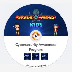 real classroom cyber-mons kids pack