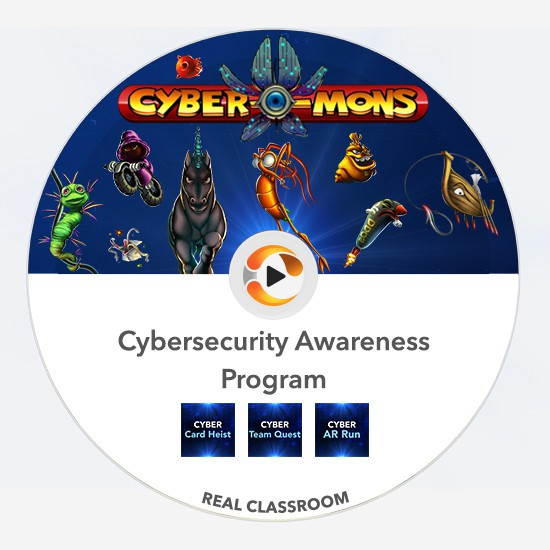 cyber-mons real classroom pack multiplayer team training