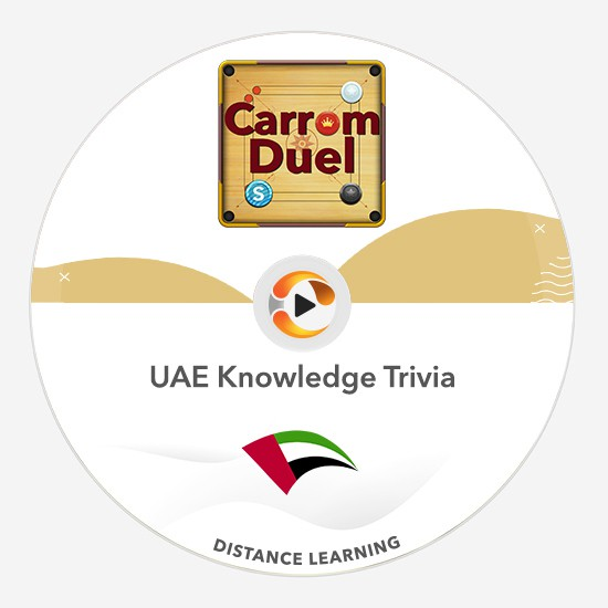 uae knowledge carrom duel distance learning multiplayer team training