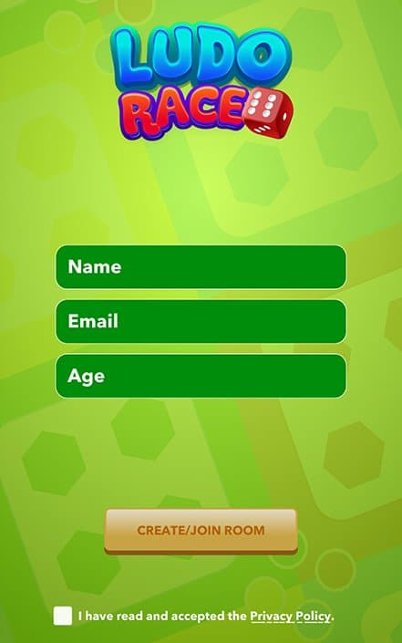 ludo race registration english