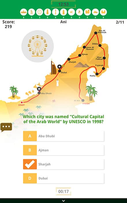 uae knowledge tour quiz 3