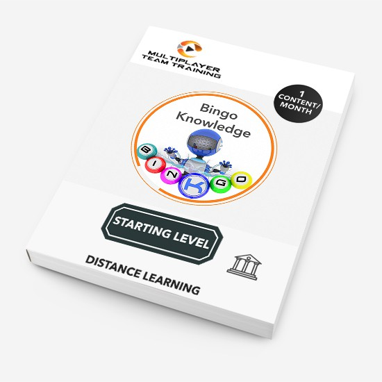 starting level knowledge bingo
