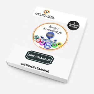 sme/start-up knowledge bingo