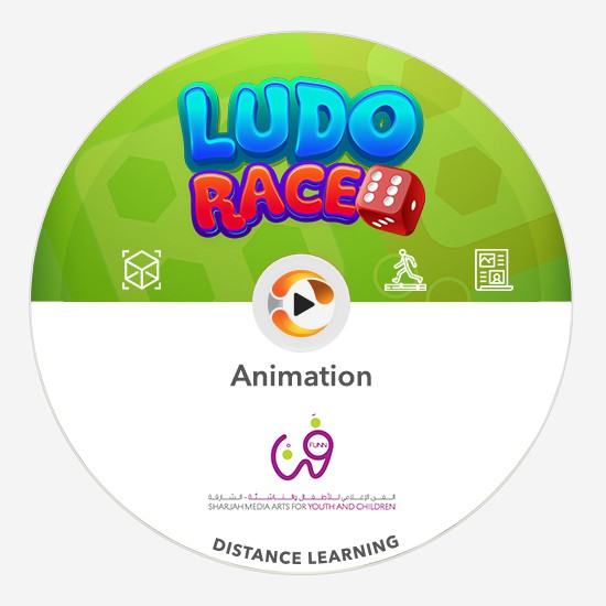 animation ludo race