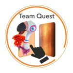 team quest white background