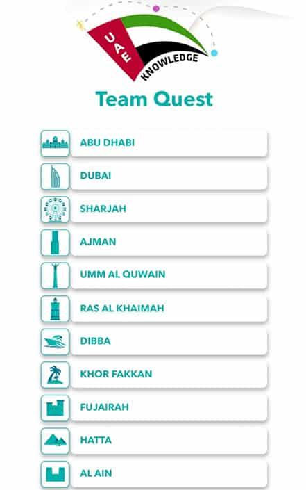 uae knowledge-team-quest-splash