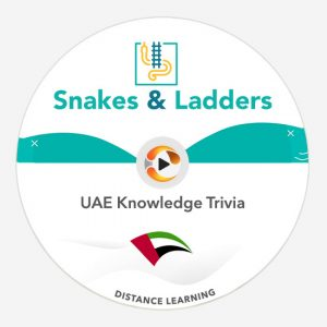 uae knowledge trivia snakes & ladders game