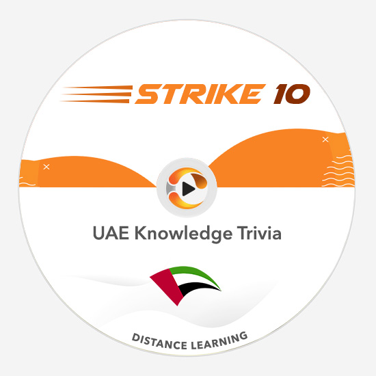 uae knowledge trivia strike 10 game