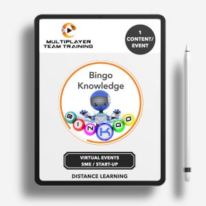 virtual events knowldege bingo