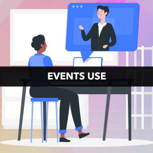 Events Use - Real + Virtual Events