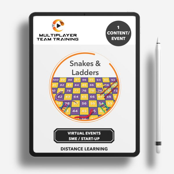 virtual events snakes and ladders
