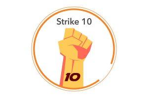 strike 10 white
