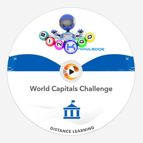 world capitals knowledge bingo