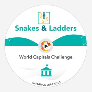 world capitals snakes & ladders