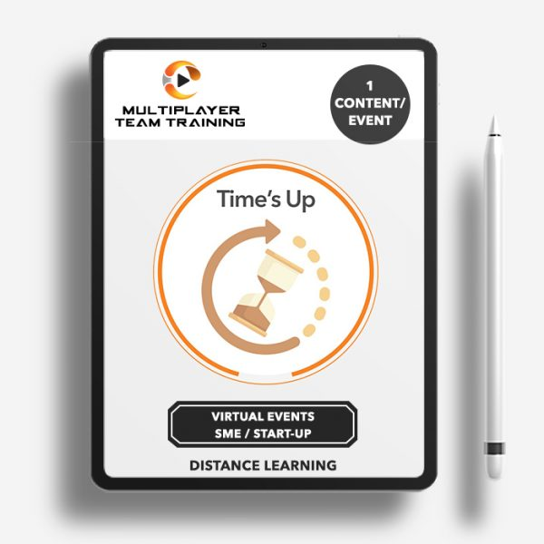 virtual events sme time's up game