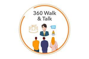 360 Walk & Talk white